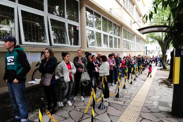 Cadastramento biométrico antecipado evita filas no Cartório Eleitoral de Caxias do Sul Jonas Ramos/Agencia RBS