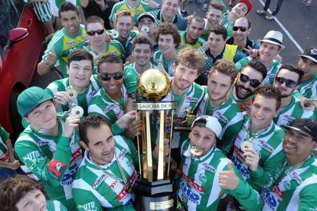 Juventude Futsal vence o Sobradinho fora de casa e é campeão da Série Prata Felipe Nyland/Agencia RBS