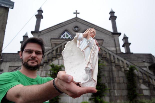 Crime de ódio estaria por trás dos ataques contra imagens sacras na Serra Felipe Nyland/Agencia RBS