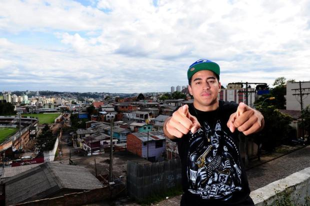 Chiquinho Divilas usa o rap e o hip hop contra a violência em Caxias do Sul Jonas Ramos/Agencia RBS