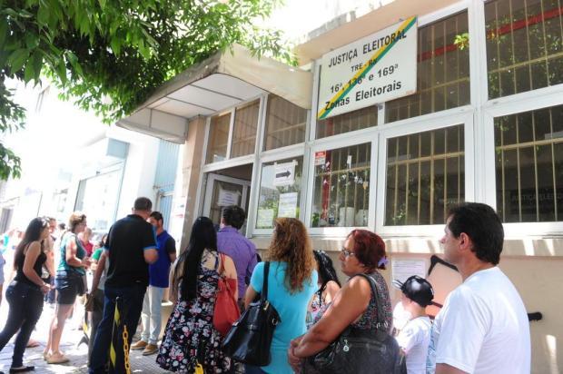 Para cumprir meta, Caxias precisaria recadastrar 3,8 mil eleitores todos os dias Roni Rigon/Agencia RBS