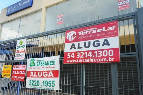Retração da economia provoca aumento na oferta de salas comerciais em Caxias (Roni Rigon/Agencia RBS)