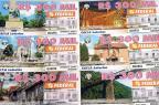 Loteria Federal traz imagens de pontos turísticos de Caxias do Sul  Reprodução/Reprodução