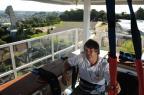 Selfies a 40 metros de altura (Diogo Sallaberry/Agencia RBS)
