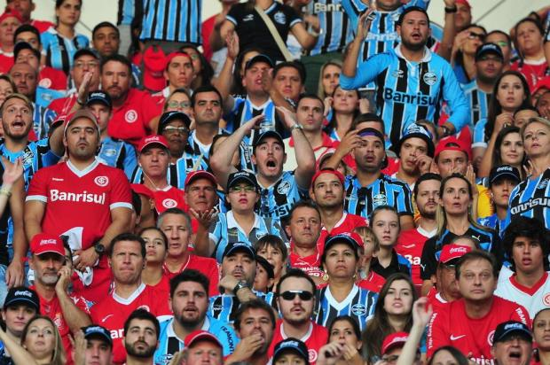 """José Augusto Barros: """"Acima do futebol, a civilidade e a paz"""" Diego Vara/Agencia RBS"""