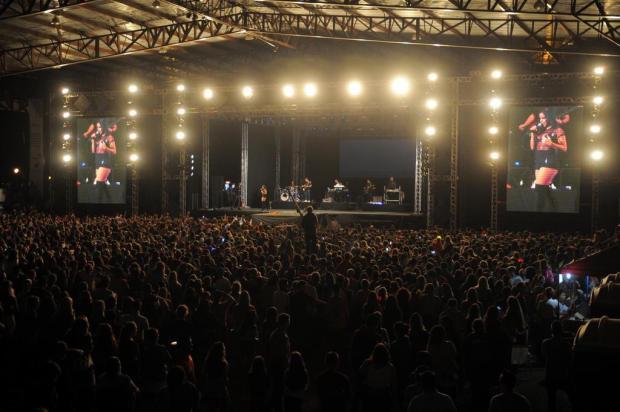 Por ordem dos Bombeiros, palco principal da Festa da Uva terá capacidade reduzida pela metade Felipe Nyland/Agencia RBS