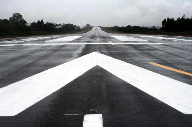 Aeródromo de Bento Gonçalves inaugura nova pista de pouso e decolagem neste sábado Jonas Ramos/Agencia RBS