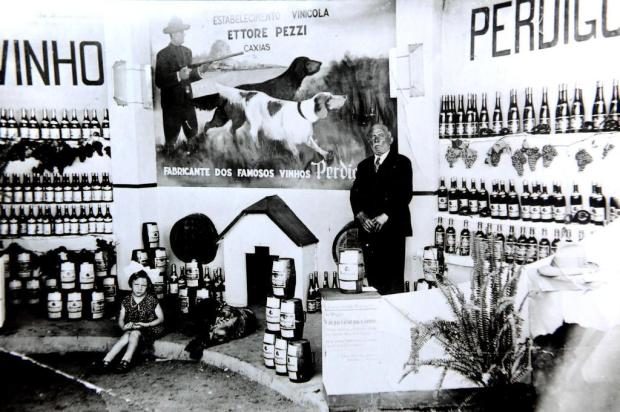 Memória: Vinícola Adega Pezzi em 1933 Geremia/Agencia RBS