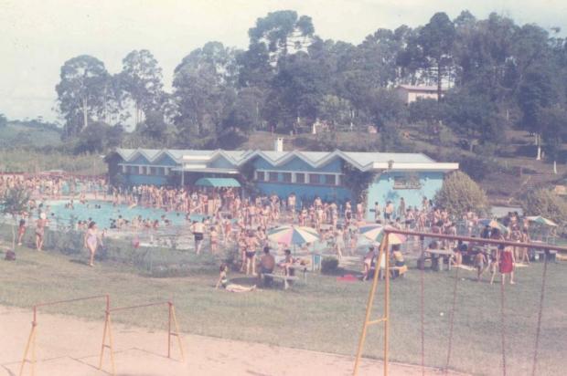 Memória: sede campestre do Recreio Guarany em 1973 Acervo pessoal/divulgação