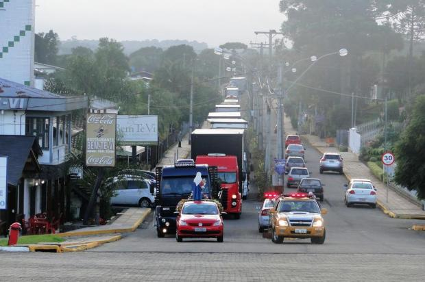 Romaria dos Caminhoneiros ocorre no próximo sábado, em Farroupilha Margô Segat/Divulgação