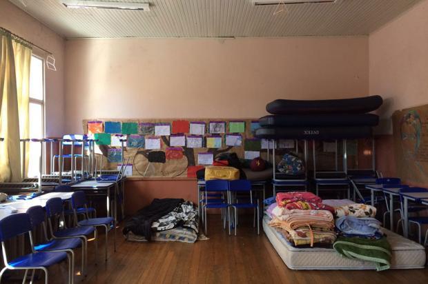 Alunos do Emílio Meyer e Apolinário mantêm ocupação das escolas em Caxias Cristiane Barcelos / Agência RBS/Agência RBS
