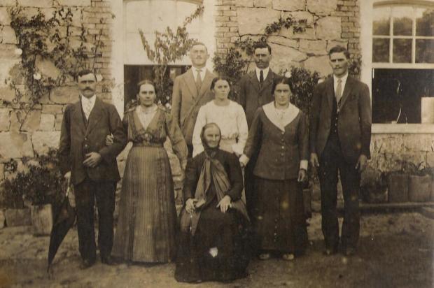 A família Fedrizzi e as origens de São Romédio acervo de Aldo José Fedrizzi/divulgação
