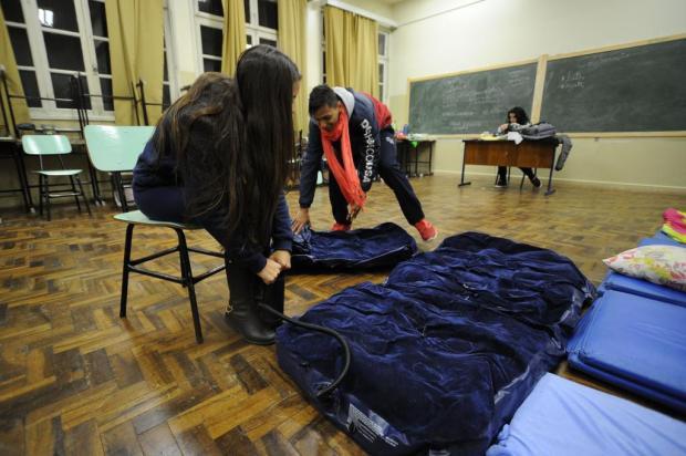 Chega a quatro o número de escolas ocupadas por estudantes em Caxias Diogo Sallaberry/Agencia RBS