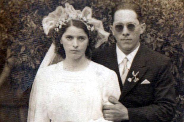 As bodas de vinho do casal Sangali, em Veranópolis Não se aplica/Arquivo Pessoal