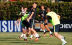Em treino da Seleção, Jonas é o escolhido para comandar o ataque Rafael Ribeiro / AI CBF, Divulgação/AI CBF, Divulgação