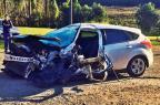 Acidente envolvendo cinco veículos deixa quatro feridos entre Bento e Farroupilha Altamir Oliveira/Estação FM / divulgação