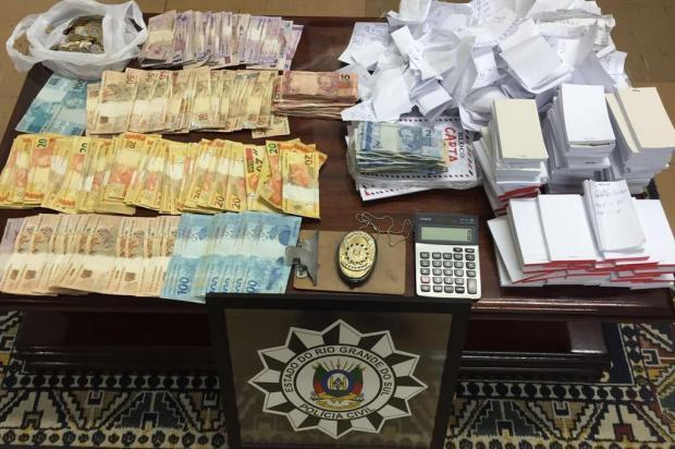 Polícia Civil desarticula banca de jogo do bicho, em Bento Gonçalves Polícia Civil/Divulgação