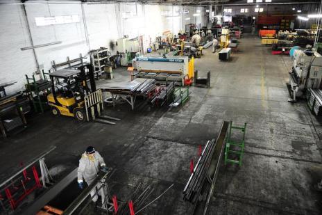 Faturamento da indústria de Caxias deve ser a metade do registrado em 2013 (Porthus Junior/Agencia RBS)