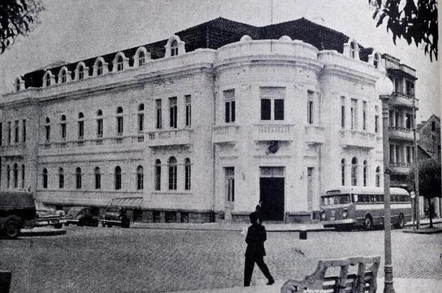 O terceiro andar do Clube Juvenil em 1965 Optica Caxiense/Reprodução