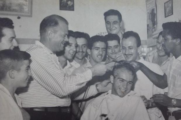 Grêmio Esportivo Flamengo, Inter e um corte de cabelo em 1958 Arquivo pessoal de Lady Cesa/Reprodução