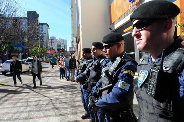 Dez novos guardas municipais começam a atuar segunda-feira em Caxias Roni Rigon/Agencia RBS
