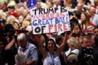 """Trump promete """"segurança"""" se for eleito presidente dos EUA (Win McNamee/GETTY IMAGES NORTH AMERICA)"""