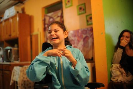 Menina de Caxias com doença grave realiza cirurgia custeada pelo SUS (Diogo Sallaberry/Agencia RBS)