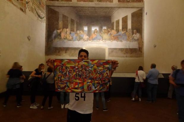 Fábio Panone Lopes leva o grafite de Caxias do Sul para a Europa arquivo pessoal/arquivo pessoal