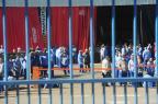 Trabalhadores da Guerra, de Caxias, paralisam atividades na manhã desta quinta-feira Roni Rigon/ Agência RBS/