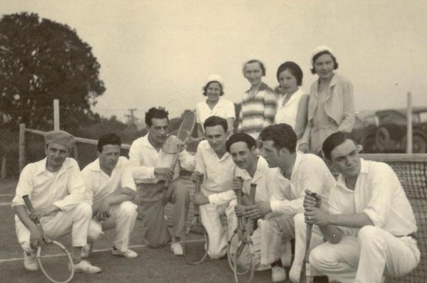 Os primórdios do tênis em Caxias Acervo Arquivo Histórico Municipal João Spadari Adami/Divulgação