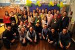 Vencedores do concurso cultural Palpiteiros Atlântida Pioneiro recebem medalhas e brindes