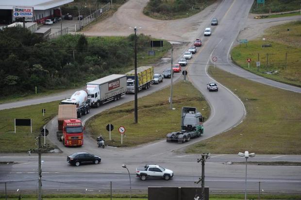 Trânsito será desviado no Trevo da Telasul, em Garibaldi Diogo Sallaberry/Agencia RBS
