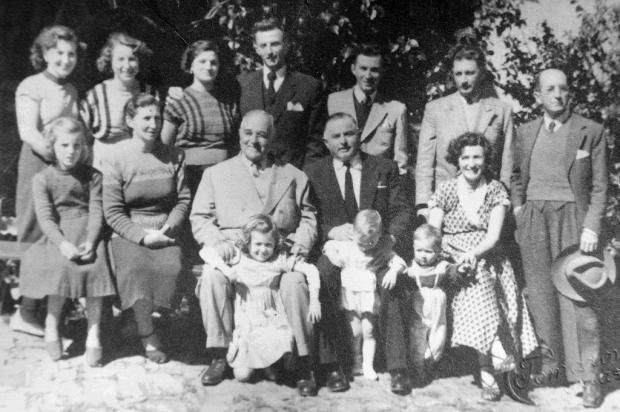 Getúlio Vargas visita a família Facchin em 1950 Clemente Tomazoni/Agencia RBS