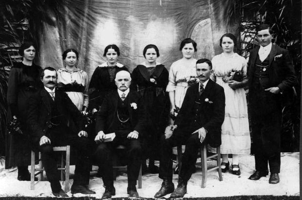 Família de Batista Giovanni Facchin Acervo Arquivo Histórico Municipal João Spadari Adami/divulgação