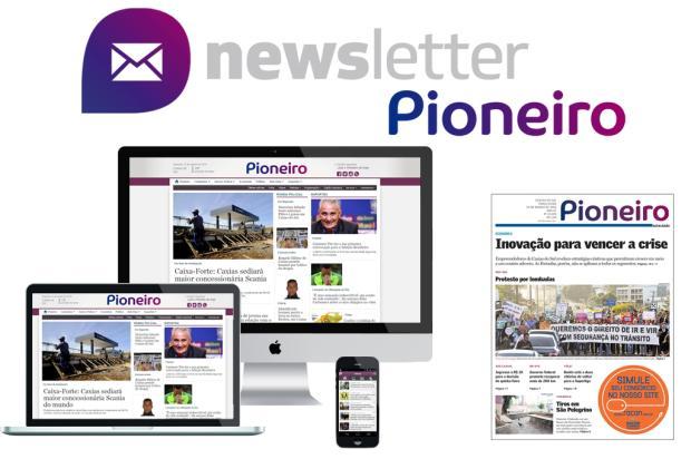 Assine a newsletter do Pioneiro e receba as principais notícias da Serra por e-mail Divulgação/