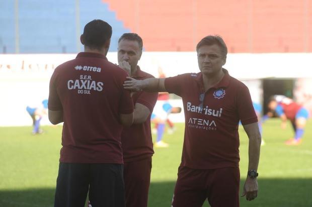 Luiz Carlos Winck é apresentado como técnico do Caxias e projeta conquistas com equipe aguerrida Jonas Ramos/Agencia RBS