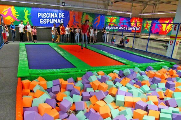 Jump Park é atração no shopping Iguatemi Caxias Arena Jump/Divulgação