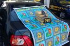 Dupla é presa com droga escondida em para-choque de carro em Vacaria Polícia Rodoviária Federal/Divulgação