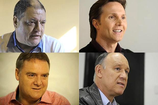 RBS TV realiza debate com candidatos a prefeito de Caxias do Sul nesta quinta-feira Diogo Sallaberry, Felipe Nyland e Jonas Ramos, Agência RBS /