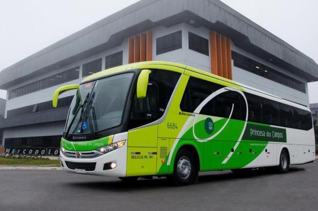 Marcopolo entrega15 ônibus com capacidade para 52 passageiros Douglas de Souza Melo/divulgação