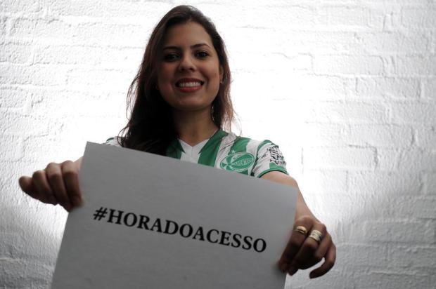 É hora de apoiar o Juventude para chegar à Série B! Mande sua foto com a #horadoacesso Felipe Nyland/Agencia RBS