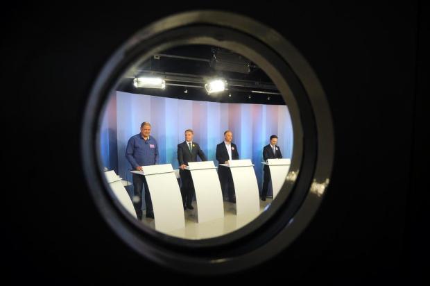 Confira como foi o debate entre os candidatos a prefeito de Caxias do Sul na RBS TV Felipe Nyland/Agencia RBS