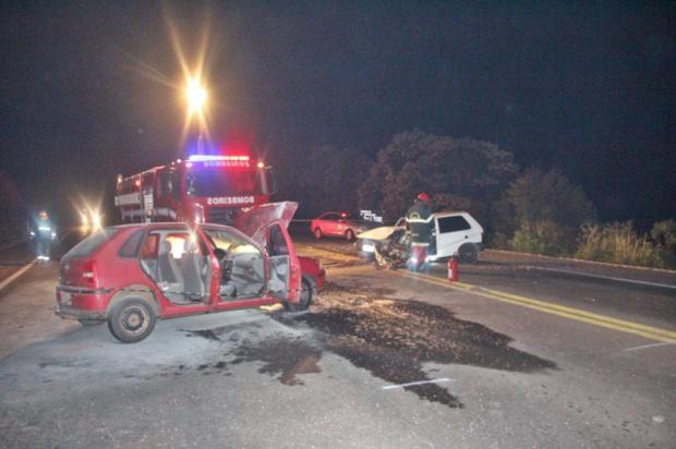 Homem morre em colisão frontal na RSC-453, em Garibaldi Altamir Oliveira/ Estação FM / Divulgação/Divulgação