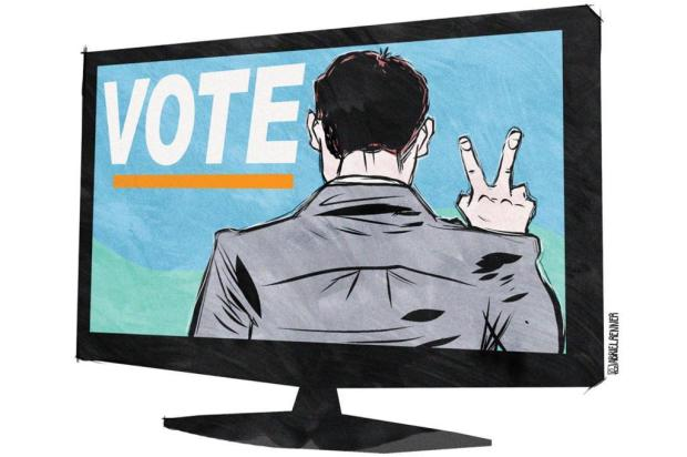 Começa a propaganda eleitoral no rádio e na TV para o segundo turno Gabriel Renner/Arte ZH