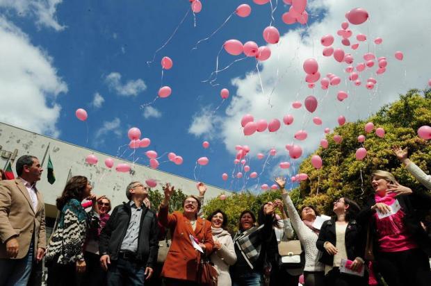 Lançado em Caxias o Outubro Rosa, campanha contra o câncer de mama Roni Rigon/Agencia RBS