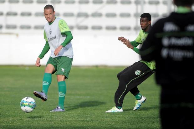 Antes da decisão pelo acesso, Juventude faz treino fechado na tarde deste sábado Felipe Nyland/Agencia RBS