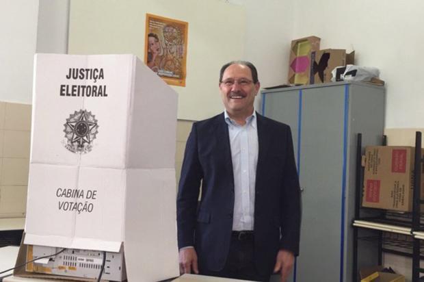 Governador José Ivo Sartori vota em Caxias do Sul André Fiedler / Gaúcha Serra/Gaúcha Serra