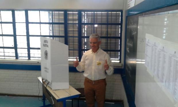 Francisco Corrêa é o quinto candidato a votar em Caxias do Sul Acervo Pessoal/Divulgação