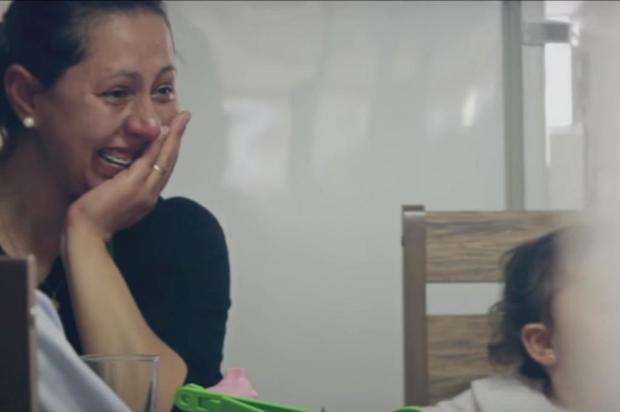 3por4: Campanha incentiva elogios à mesa entre famílias da região Sul Reprodução/Divulgação