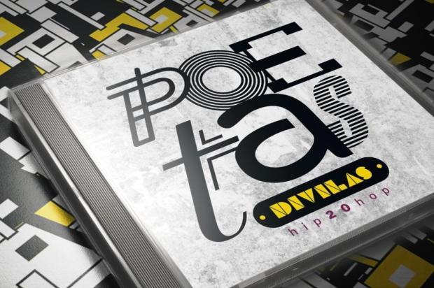 3por4: Poetas Divilas começam a divulgar CD nas escolas de Caxias Arte Rafael Lunardon/Divulgação